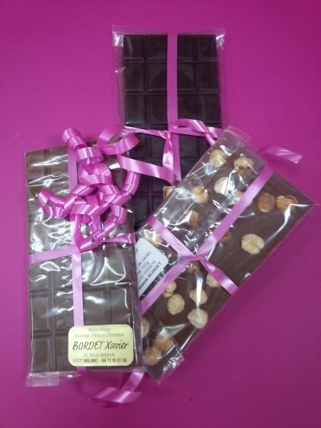 tablettes chocolat patisserie bordet arlanc